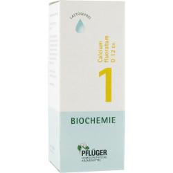 Biochemie Pflüger 1 Calcium fluoratum D12 Tropfen 30 ml