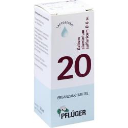 Biochemie Pflüger 20 Kalium alum.sulf.D 6 Tropfen 30 ml