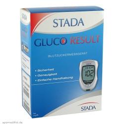 Stada Gluco Result  Blutzuckermessgerät / mg/dl