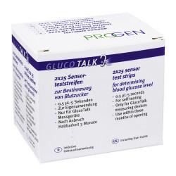 Gluco Talk  Teststreifen / VPE 2x25 St.