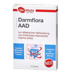 Darmflora AAD Dr. Wolz Kapseln 10 St.