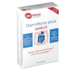 Darmflora plus® select Dr. Wolz Kapseln 40 St.