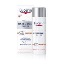 Eucerin Anti-Age HYALURON-FILLER CC Cream mittel 50 ml