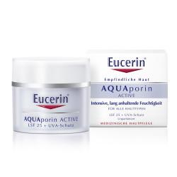 Eucerin AQUAporin ACTIVE Creme LSF 25 + UVA-Schutz 50 ml