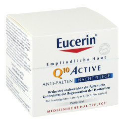Eucerin Empfindliche Haut Q10 Active Nacht 50 ml