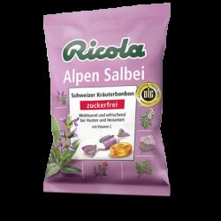 Ricola Alpen Salbei Bonbons, ohne Zucker 75g