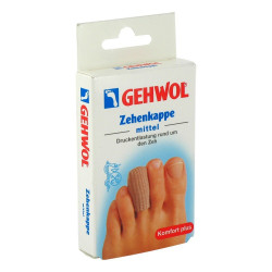 GEHWOL Polymer-Gel Zehenkappe textilverstärkt mittel 1 St.