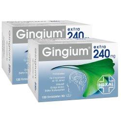 Gingium extra 240 mg Doppelpack