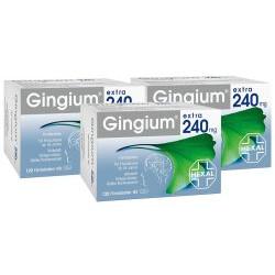 Gingium extra 240 mg Dreierpack