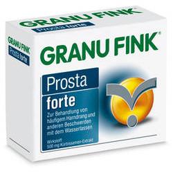 GRANU FINK Prosta forte 500 mg Hartkapseln 40St
