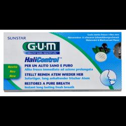 GUM HaliControl Lutschtabletten, Wasserminze + schwarze Johannisbeere 10 St.