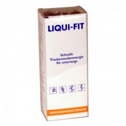 Liqui-Fit Orangengeschmack - flüssige Traubenzuckerenergie / 12 Beutel