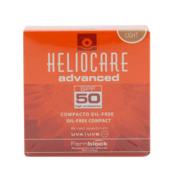 Heliocare Compact Make up ölfrei SPF 50 hell 10 g