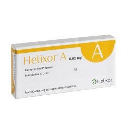Helixor A  8x 0,01 mg Ampullen inkl. Einmalspritzen und Kanülen
