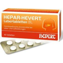 HEPAR-HEVERT Lebertabletten SL  40St