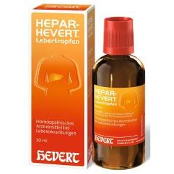 HEPAR-HEVERT Lebertropfen  50ml