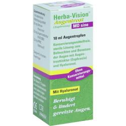 Herba-Vision Augentrost MD sine Augentropfen 10 ml