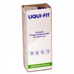Liqui-Fit Minzgeschmack - flüssige Traubenzuckerenergie / 12 Beutel