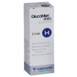 GlucoMen areo H - Kontrolllösung / 2,5 ml