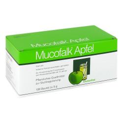 Mucofalk Apfel Granulat Beutel 100 St.