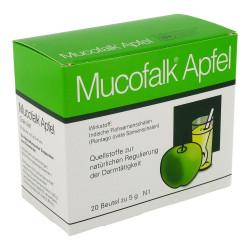 Mucofalk Apfel Granulat Beutel 20 St.