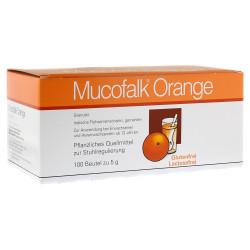 Mucofalk Orange Granulat Beutel 100 St.