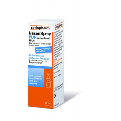 NasenSpray PUR ratiopharm PLUS 20 ml