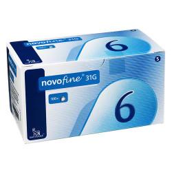 NovoFine 31G  Pen-Nadeln 6mm / VPE 100 St.
