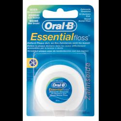 Oral-B Essentialfloss Zahnseide, gewachst mint 50 m