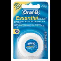 Oral-B Essentialfloss Zahnseide, ungewachst 50 m