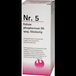 NR.5 Kalium phosporicum D6 spag. Glückselig 100ml