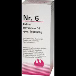 NR.6 Kalium sulfuricum D6 spag. Glückselig 100ml