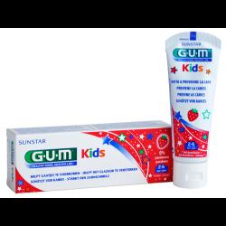 GUM Kids Zahncreme Erdbeere 2-6 Jahre 1St