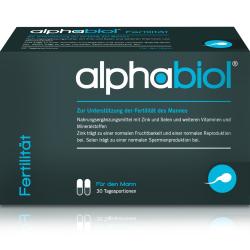 alphabiol Fertilität für den Mann Kapseln 60St