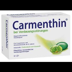 Carmenthin bei Verdauungsstörungen, magensaftresistente Weichkapseln 42 St