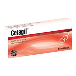 Cefagil Tabletten 20St