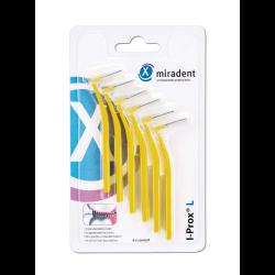miradent Interdentalbürste I-Prox L 0,5 mm gelb 6St