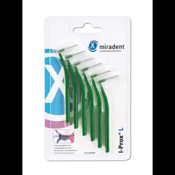 miradent Interdentalbürste I-Prox L 0,7 mm grün 6St