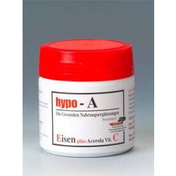 hypo-A Eisen plus Acerola Vitamin C Kapseln 120St