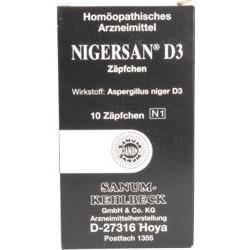 NIGERSAN D3 Zäpfchen 10St
