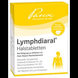 Lymphdiaral® Halstabletten 100St