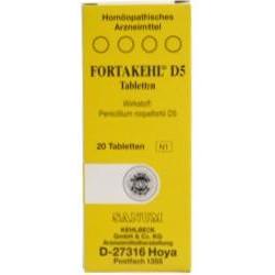 FORTAKEHL D5 Tabletten 20St