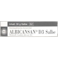 ALBICANSAN D3 Salbe 30g