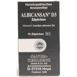 ALBICANSAN D3 Zäpfchen 10St