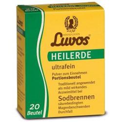 Luvos HEILERDE ultrafein Portionsbeutel 20x6,5g