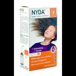 NYDA L gegen Läuse und Nissen Pumpspray + Kamm 50ml