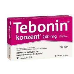 Tebonin konzent 240 mg Filmtabletten 30 St