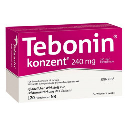 Tebonin intens 120 mg Tabletten 60 St