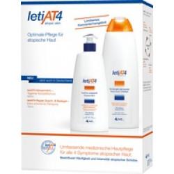 LETI AT4 Set 3 Körpermilch + Dusch & Badegel
