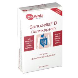 Sanuzella® D Dr. Wolz Kapseln 60 St.